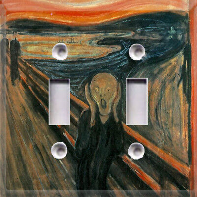 Historic Art The Scream Edvard Munch Themed Light Switch Cover Choose Your Cover