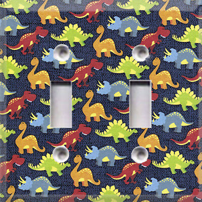 Dinosaurs Themed Light Switch Plate Cover ~ Choose Your Cover ~ Kids Room Decor