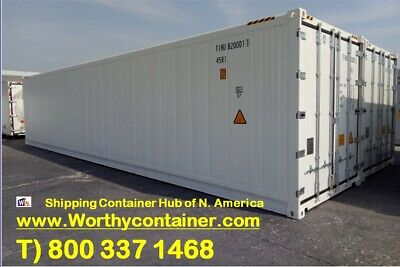 40' New Shipping Container / 40ft One Trip Shipping Container - Edmonton, Canada