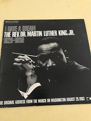 Dr Martin Luther King Jr ~ I Have A Dream 1963 Speech Lp ~ Creed 3201