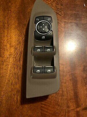 2013 14 15 16 2017  Lincoln MKZ Window Master Switch Tan Bezel
