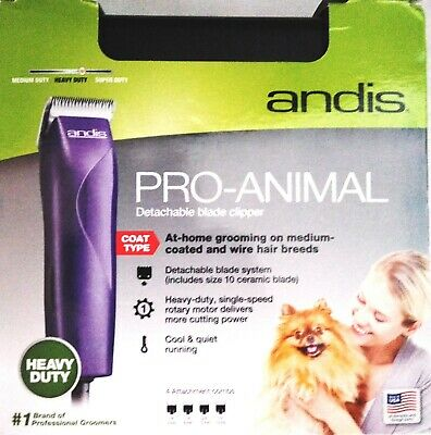 Andis MBG-2 Pro-Animal Detachable Blade Pet Clipper Kit - Andis # 21420