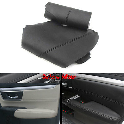For Honda CRV 17-18 Car Door Armrest Sewing PU Leather Surface Shell COVER Trim