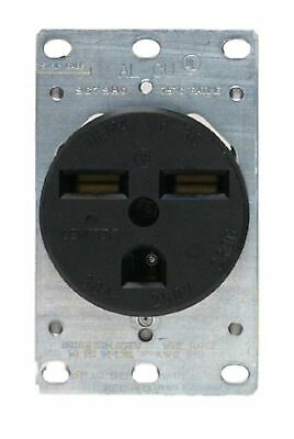 Leviton 800-5372-8K 30 Amp Flush Mount Dryer Receptacle