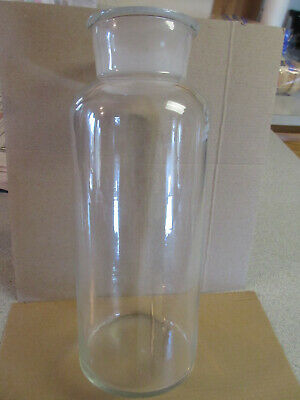 Glass lab bottle wide mouth 2000 ml