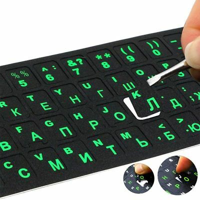 Russian Laptop PVC Keyboard Sticker Waterproof Sticker Computer Letter Layout CN