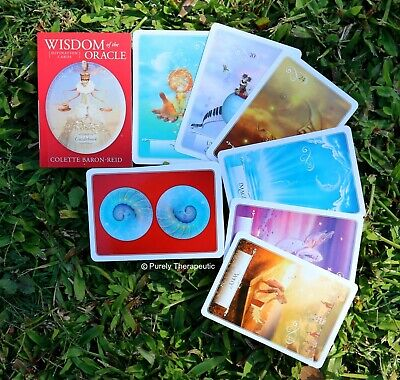 WISDOM OF THE ORACLE CARDS BY COLETTE BARON-REID With Guidebook Boxed Sealed New