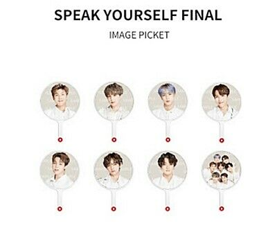 Bts World Tour Speak Yourself {The Final} Official Md/Goods: Image Picket