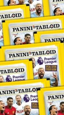 226 Packs Of Panini Tabloid Premier League Special Edition Stickers