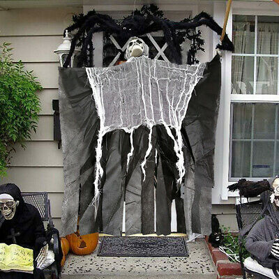 Halloween Hanging Ghost Party Door Decor Horror Ghost Props Skeleton Scary Gift