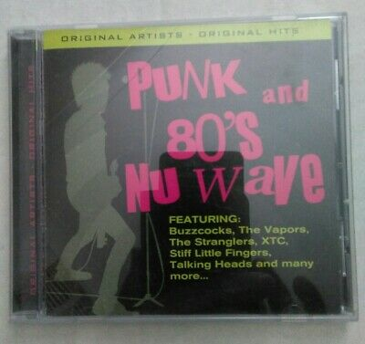 Punk and 80's Nu Wave 12 original hits/artists CD BRAND NEW SEALED MUSIC ALBUM