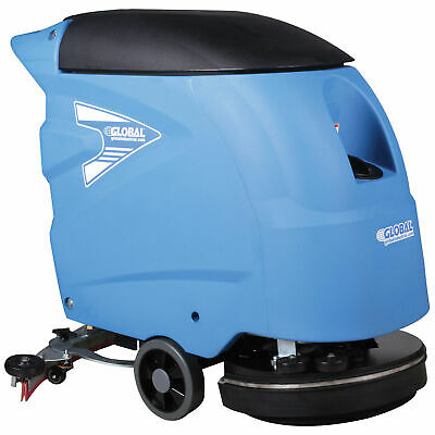 "Auto Floor Scrubber 18"" Cleaning Path"