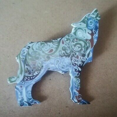 Halloween Spilla Lupo Trono di Spade Style, Game of Thrones Wolf Pin Stark House