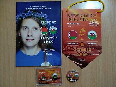 BELARUS v WALES 8 October 2019 Q EURO-2021 Womens official price for programm