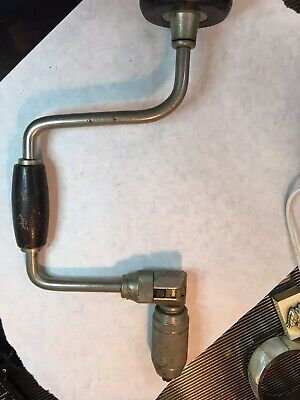 Stanley Bit Brace No. 965N 10 In. Vintage Collectible Tool w Straight Reamer