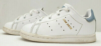 ADIDAS STAN SMITH baby boys ortholite leather trainers shoes