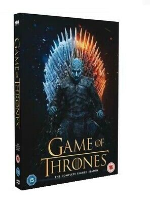 Game of Thrones Season 8 DVD 2019 Brand New & Sealed Complete Box Set