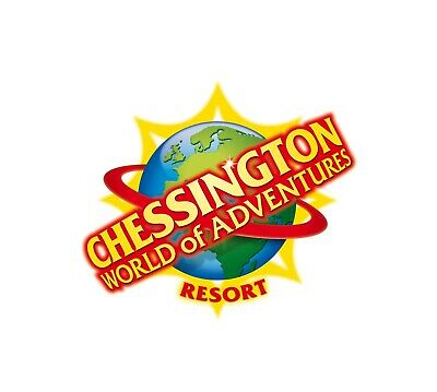 2 Chessington World Of Adventures tickets for Monday 14th October 2019