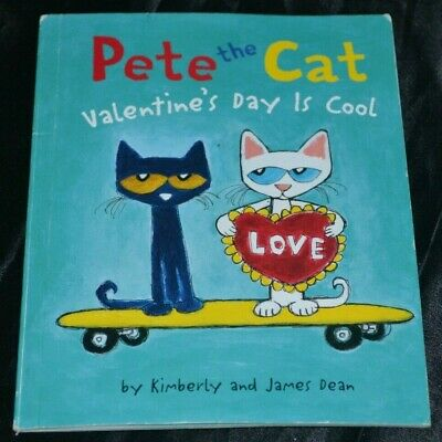 Pete the Cat: Valentine's Day Is Cool (2013, Paperback) Kids Books