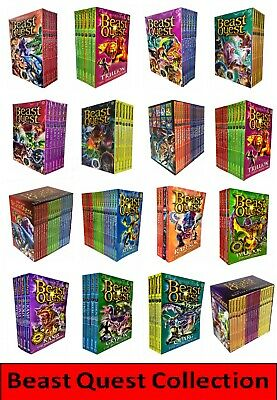 Beast Quest Collection,Box Set, Book Set, Sea Quest Set, Adam Blade Books