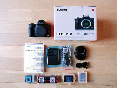 Canon EOS M50 neuf (body only) - sans objectif + 2 batteries