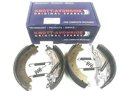 "Genuine Ifor Williams Knott Axle Brake Shoe Set  250 x 40mm For 5 Stud 10"" Drum"
