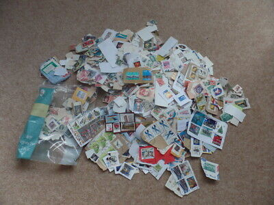 Bulk Lot 1 kilo Mixed Collectable World Postage Stamps On Paper