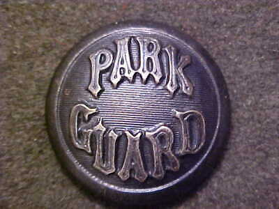 Rare Antique Obsolete Park Guard 7/8 Uniform Coat Button Snellenburg & Co