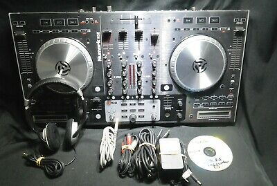 Numark NS6 - 4 Channel Digital DJ Controller + Extras and Software