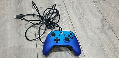 Power A Xbox One Controller Electric Blue Untested