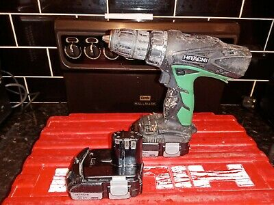 Hitachi 18V Dv18Dcl2 Hammer Drill With 2 Batteries