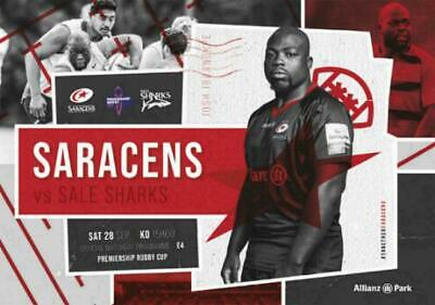 * 2019/20 - Saracens Rugby Home Programmes - Choose From List *