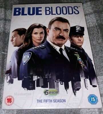 Blue Bloods DVD Boxset The Complete Fifth Season (Series 5)(2015, 6-Disc Set)NEW