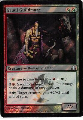 Launch Promo   MTG  Foil  Gruul Guildmage  Magic