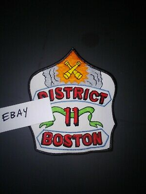 Boston District 11 Chief fire department patch