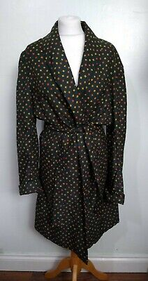 "Vintage 1970s SAMMY Made In Britain Size S 37-37"" Chest RETRO DRESSING GOWN"