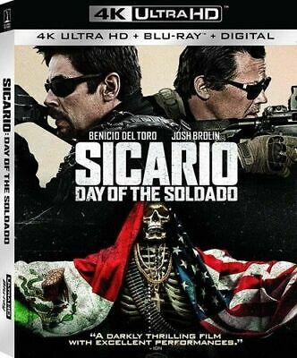Sicario Day Of The Soldado 4K Ultra Hd Blu-Ray One Disc Movie With Case Only