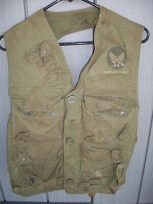 US Army Air Forces WW2 C1 Vest Emergency / Sustenance aircrew survival