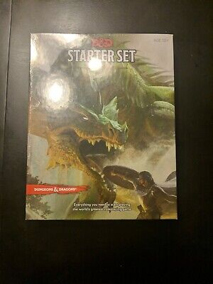 Dungeons And Dragons Starter Set Dice DD Boxed Fantasy Roleplaying 5th Edition