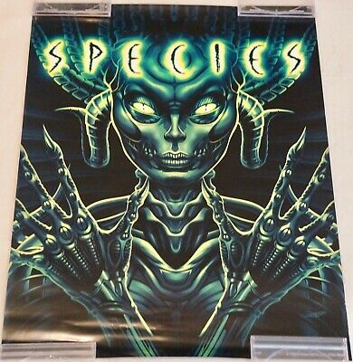 SPECIES 18x24 Rolled POSTER - Rare OOP Collector SCREAM FACTORY SHOUT Henstridge