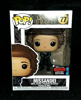 FUNKO POP! Game of Thrones #77 Missandei NYCC EXCLUSIV