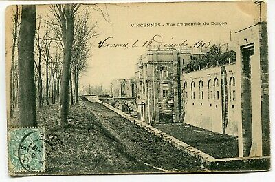 CPA - Carte Postale - France - Vincennes - Vue d'Ensemble du Donjon - 1903
