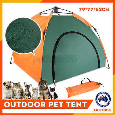 Portable In/Outdoor Camping Tent Dog House Pet Sun Shelter Folding Warm + Bag