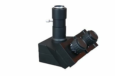 Trinocular Head w Camera Port Tubus for Microscope with Customized Mount Size