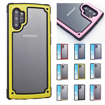 Shockproof Hybrid Armor Rugged Soft Back Case Cover For Samsung Galaxy Note10Pro