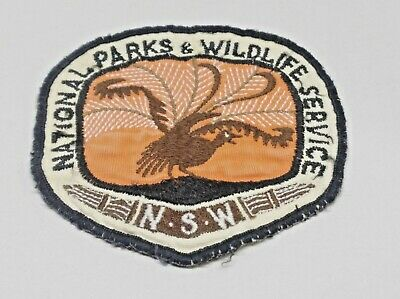 Nsw National Parks & Wildlife Servive New South Wales Patch / Badge Used