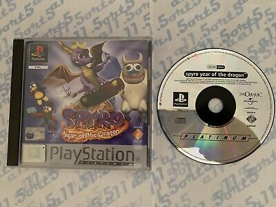 Spyro: Year Of The Dragon - Sony Ps1 Game - Playstation 1 - Complete - UK PAL