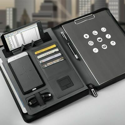Business Manager Bag Power Charger Mobile Notebook File Folder holder Travel
