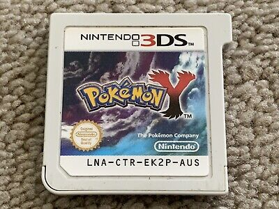 Pokemon Y - Genuine Nintendo 3DS Game - Australian AUS Version - Free Postage
