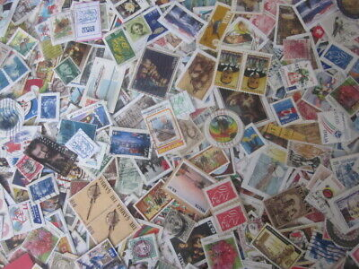 Collection Of Over Qty 400 Different Used Worldwide Stamps
